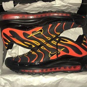 Air max 97 plus flames
